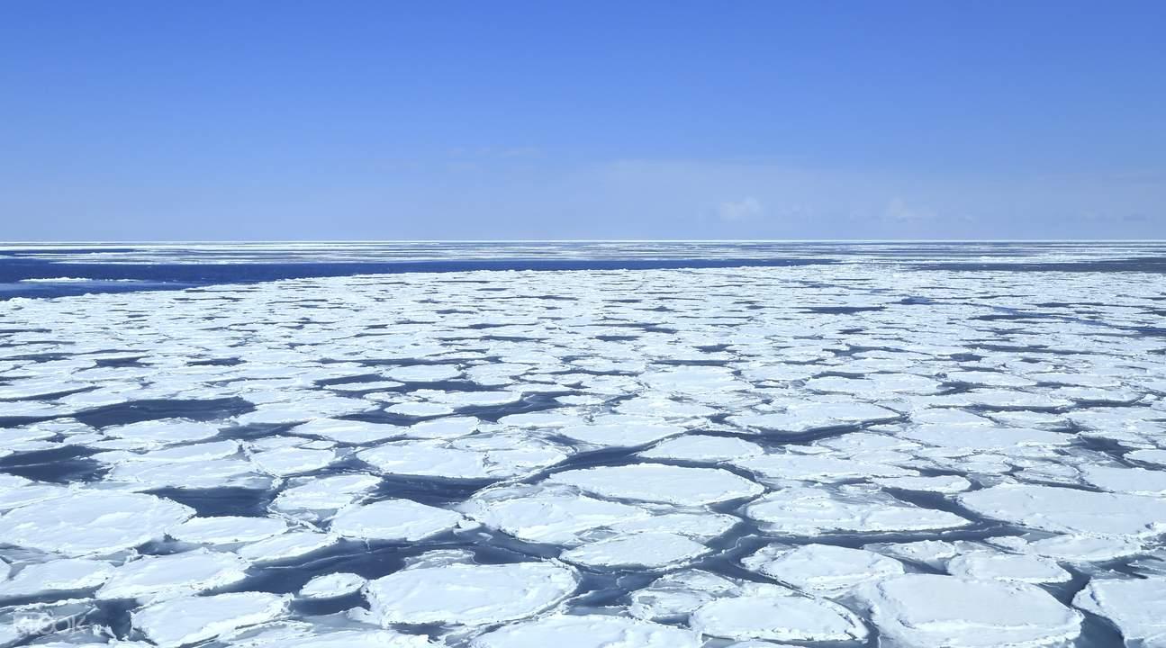 drift ice sightseeing hokkaido japan