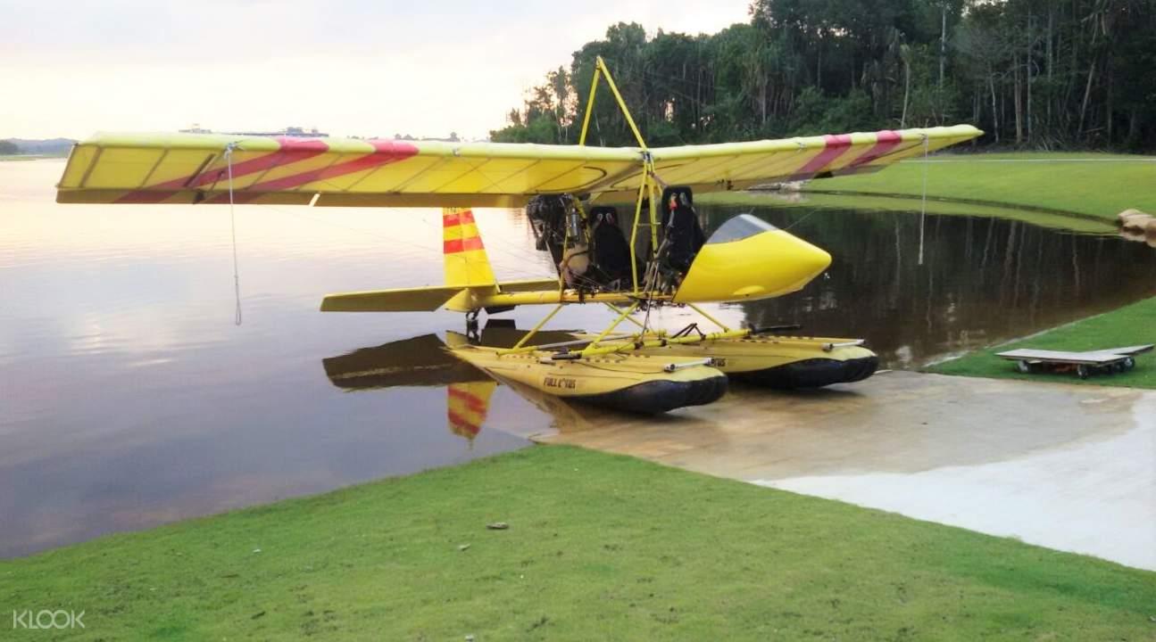 水上飞机高空观光体验