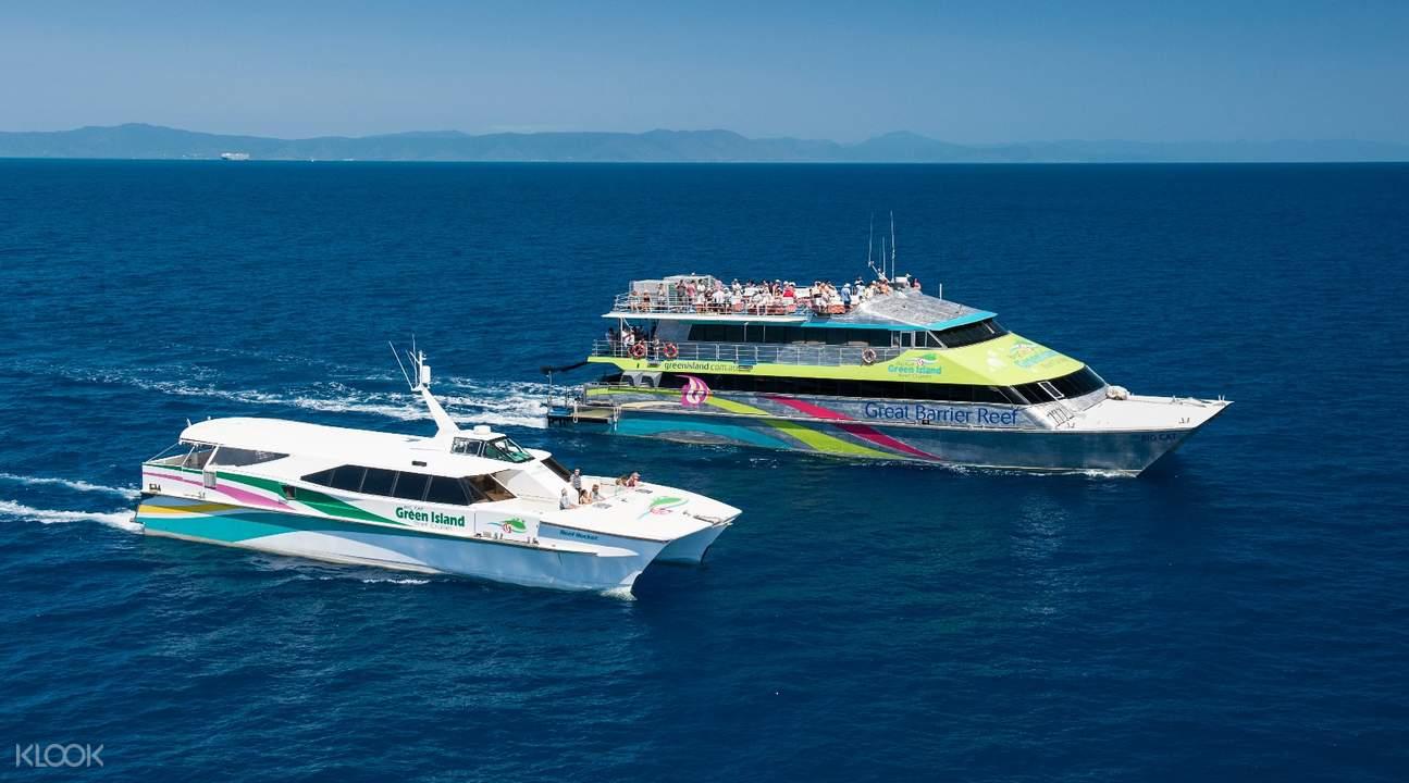 Big Cat _ Reef Rocket HR,凯恩斯大猫小猫号绿岛游船一日游,凯恩斯绿岛游船一日游,凯恩斯绿岛游船
