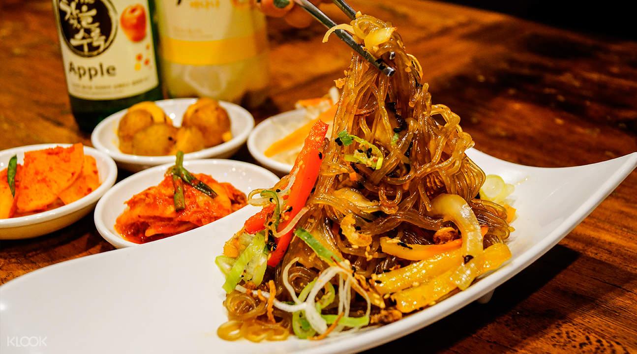 japchae kimchi korean restaurant suntec city singapore