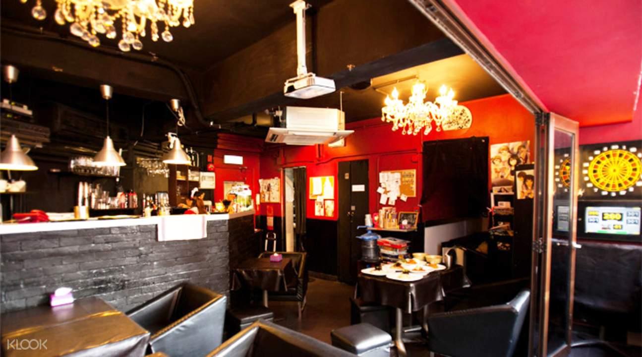 香港銅鑼灣小桃咖啡室