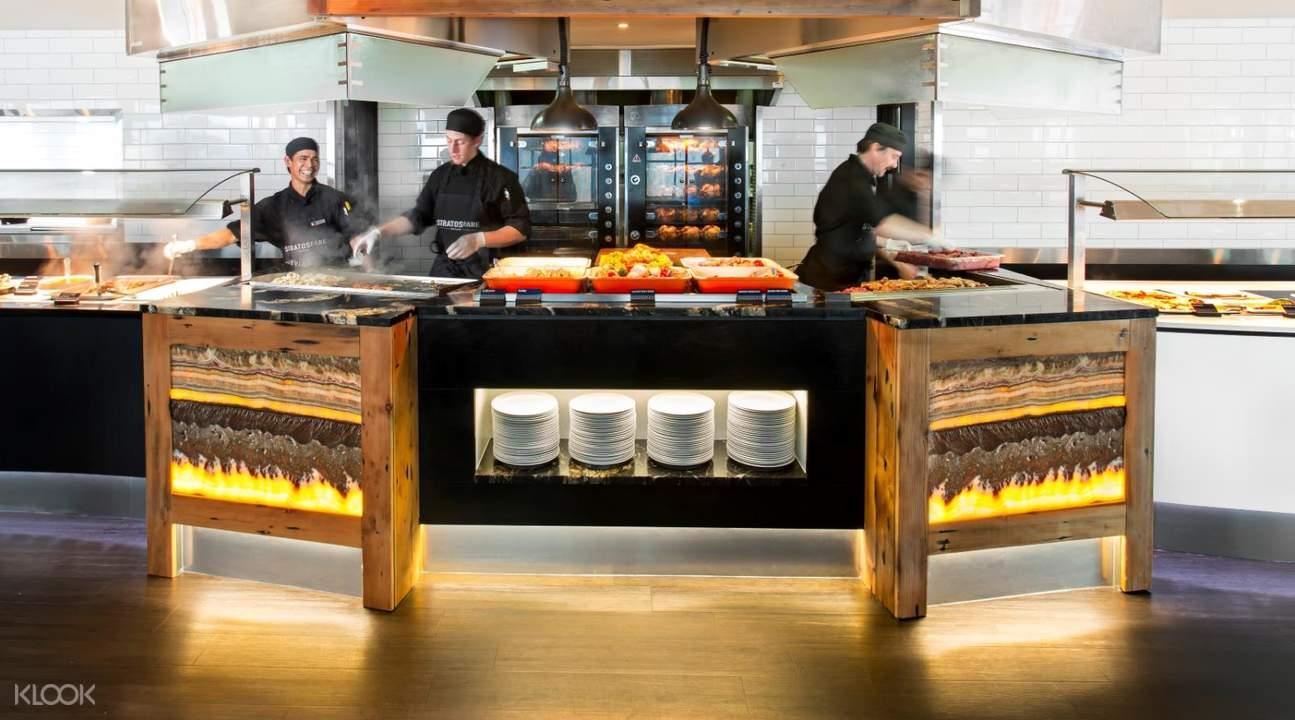皇后鎮空中纜車Stratosfare 餐廳