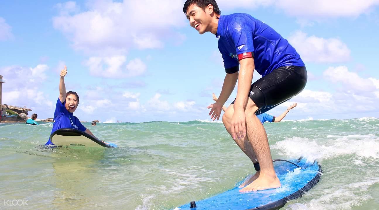 邦迪海滩冲浪