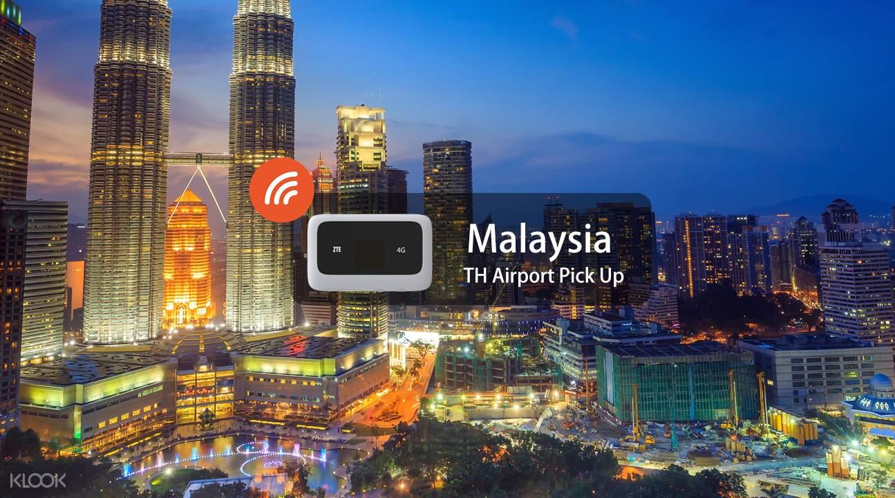 portable wifi Malaysia thailand airport