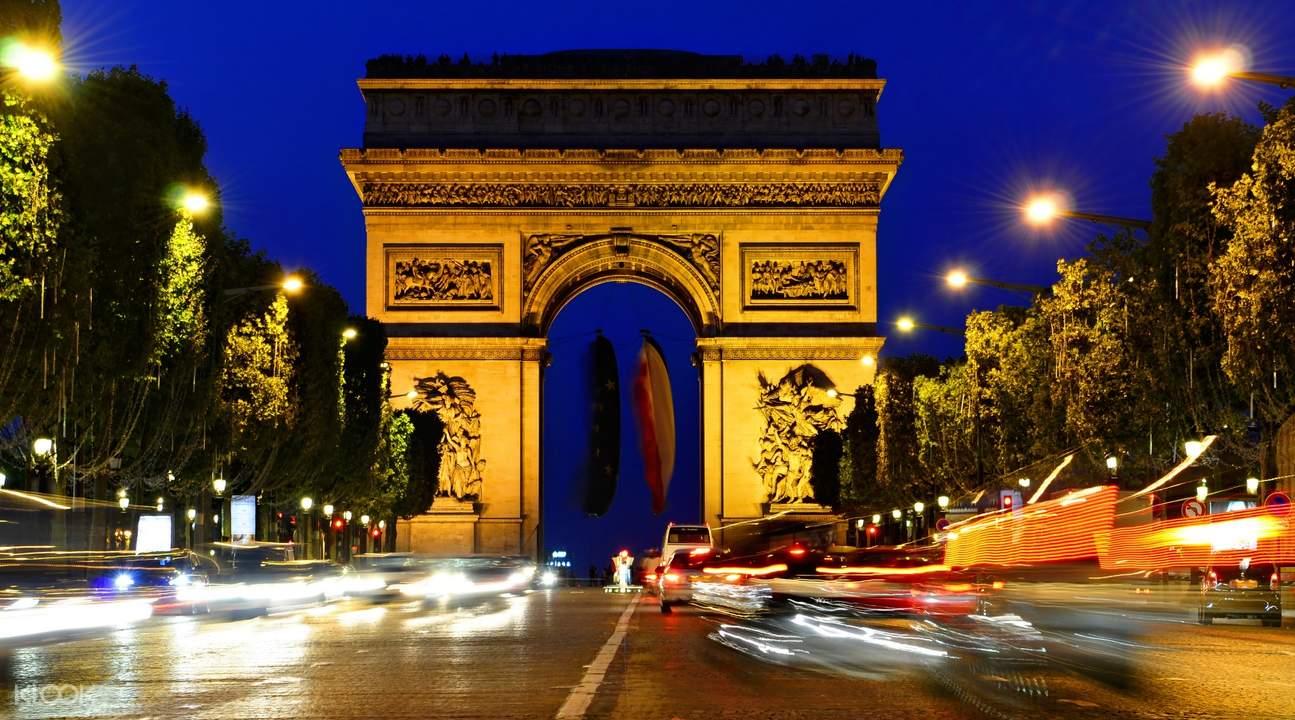 巴黎城市观光巴士