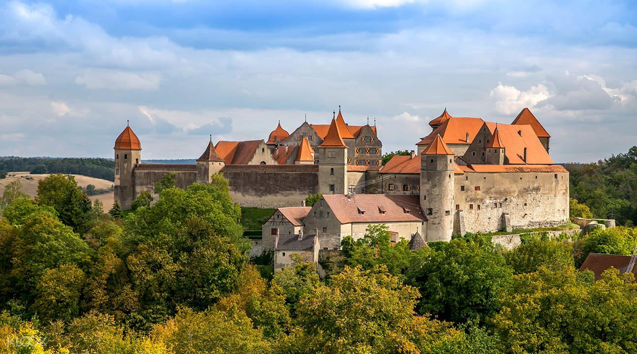 浪漫之路:罗滕堡和哈尔堡