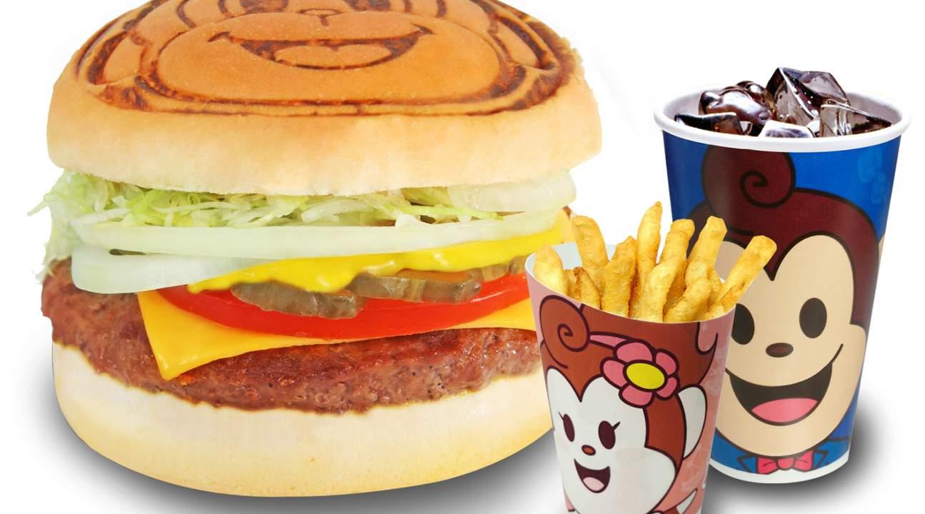 超值漢堡套餐兌換券