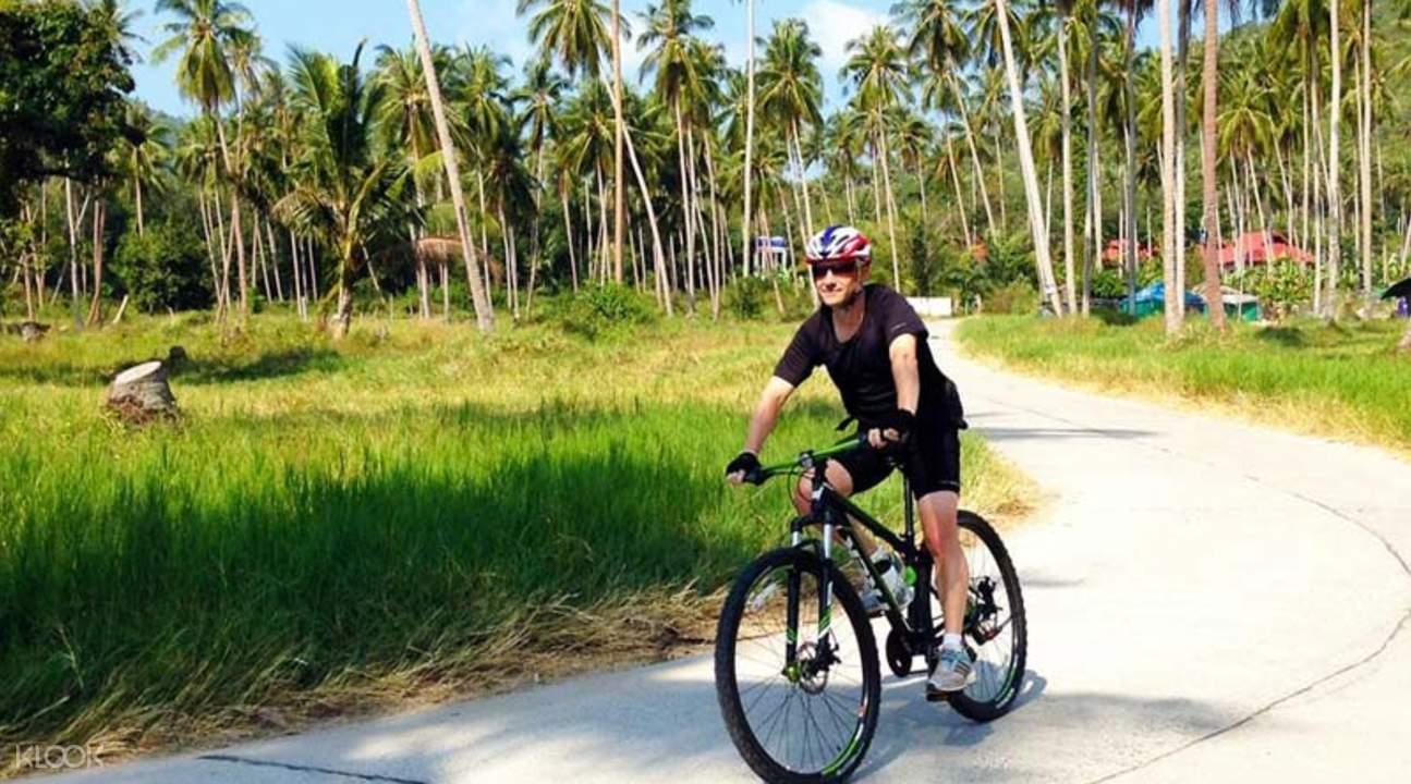 koh samui bicycle day tour