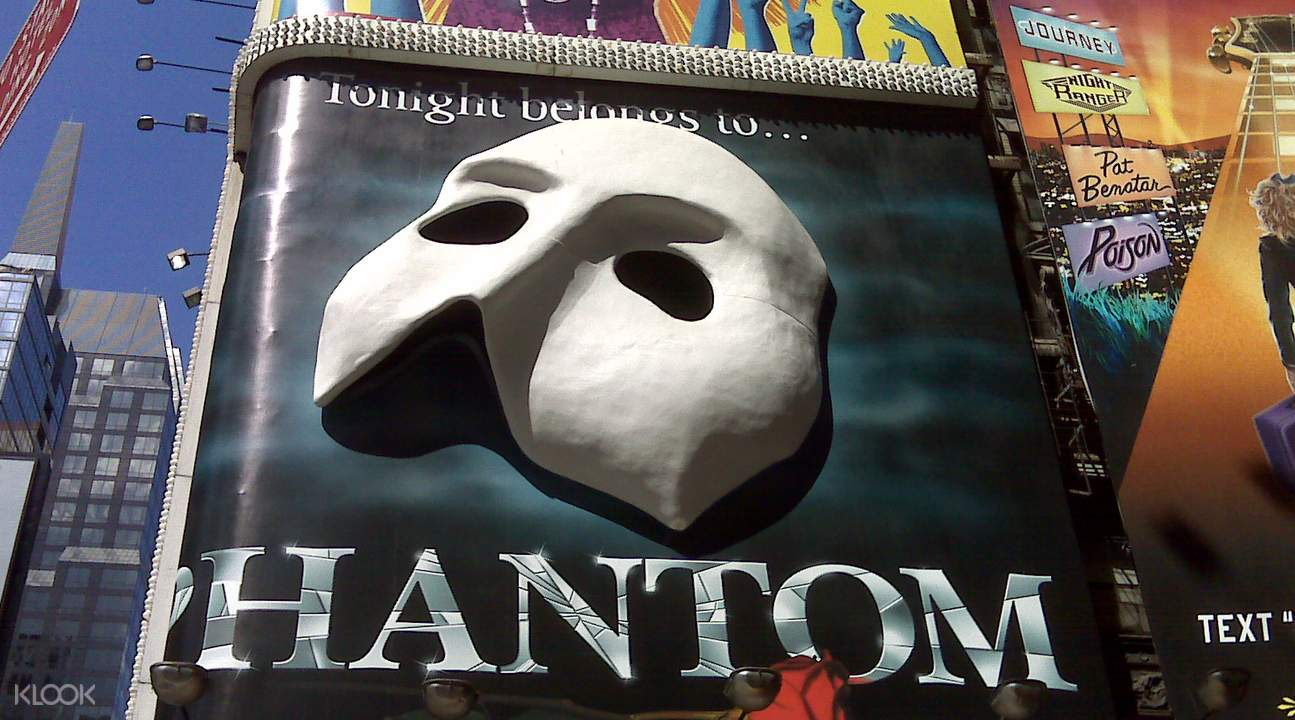the phantom of the opera broadway show ticket