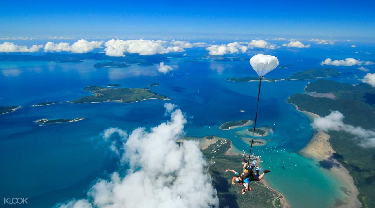 skydiving whitsundays airlie beach