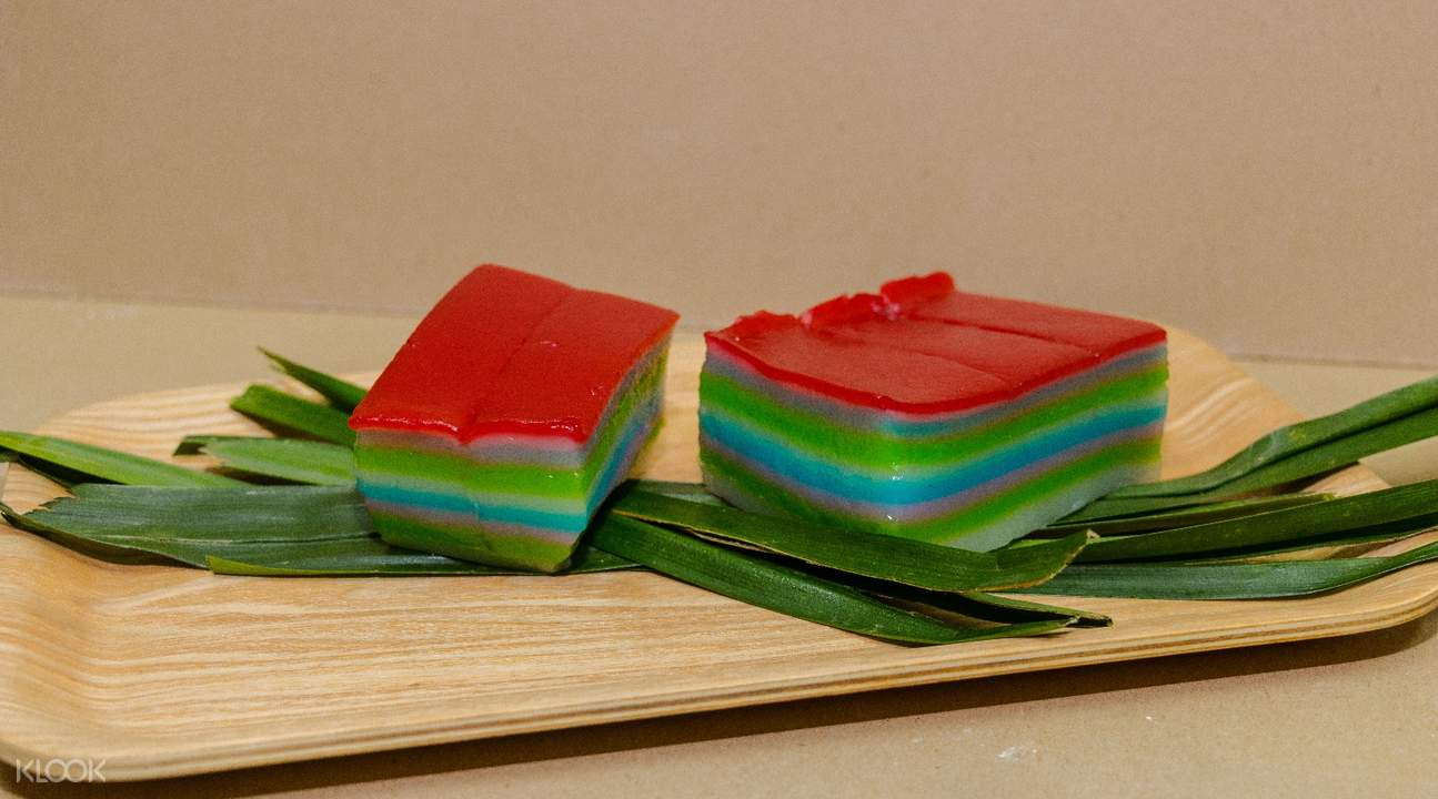 Kueh Lapis at Singapore Traditional Snacks Cooking Class