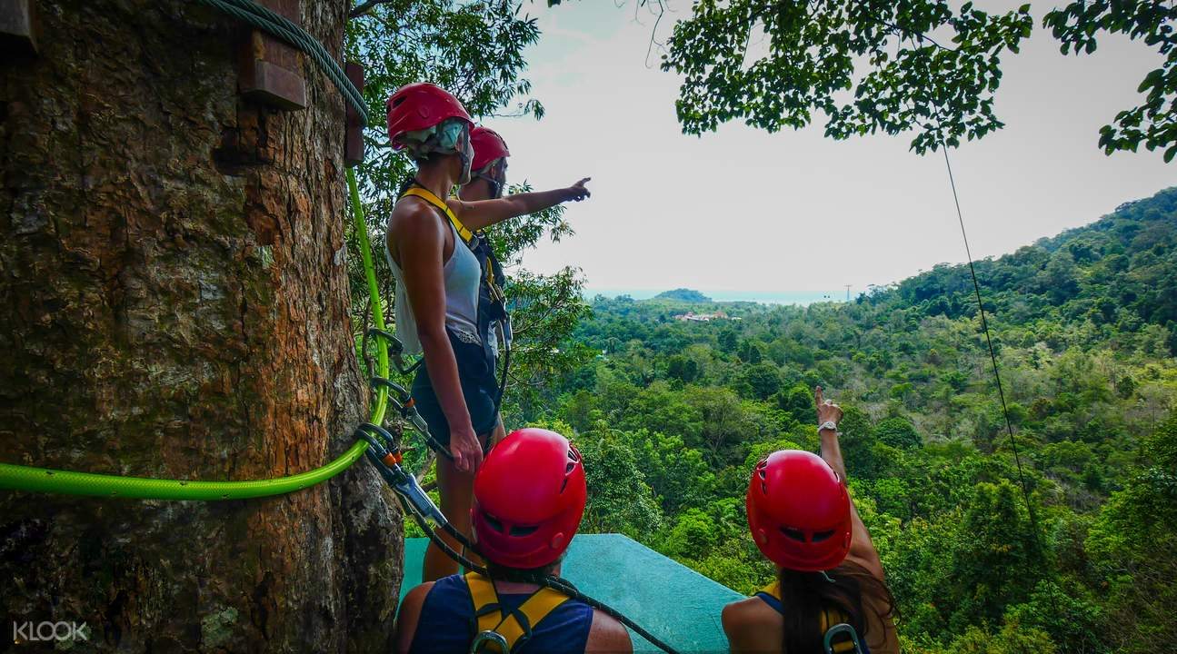 Langkawi Waterfall Ziplining Adventure Tour - Klook