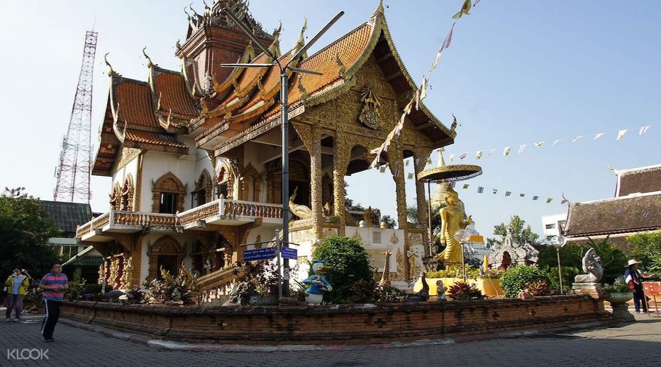 泰国 清迈古城 布帕兰寺