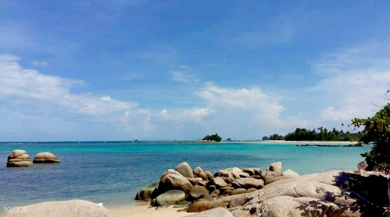 trikora beach indonesia