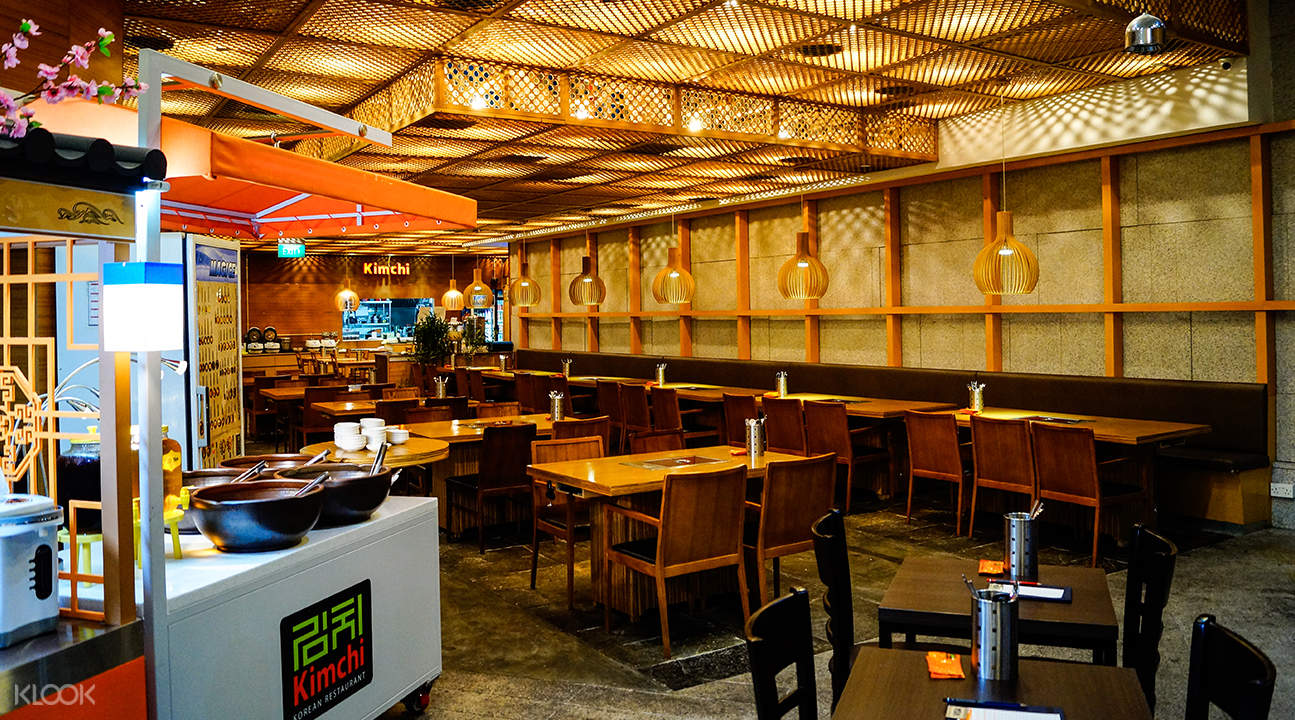interior kimchi korean restaurant suntec city singapore
