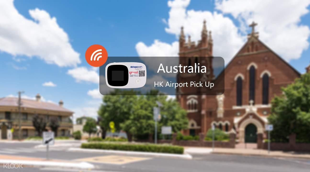 Australian pocket wifi device