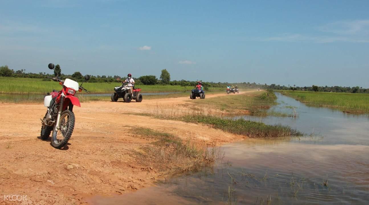 暹粒四轮摩托车冒险之旅