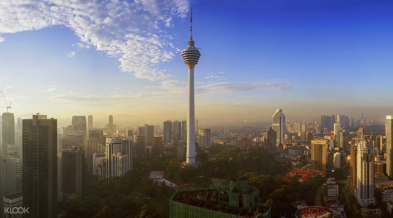 吉隆坡塔觀景台門票Kuala Lumpur Tower - 俯瞰馬來西亞首都的壯觀天際線 - Klook客路