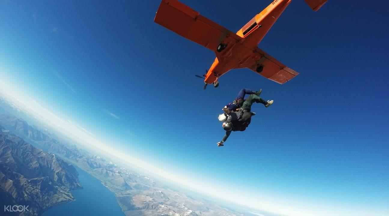 格林諾奇高空跳傘
