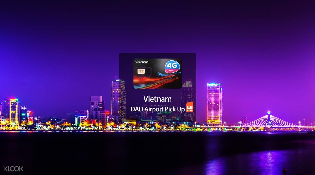 4G Vinaphone SIM Card (DAD Pick Up) for Vietnam