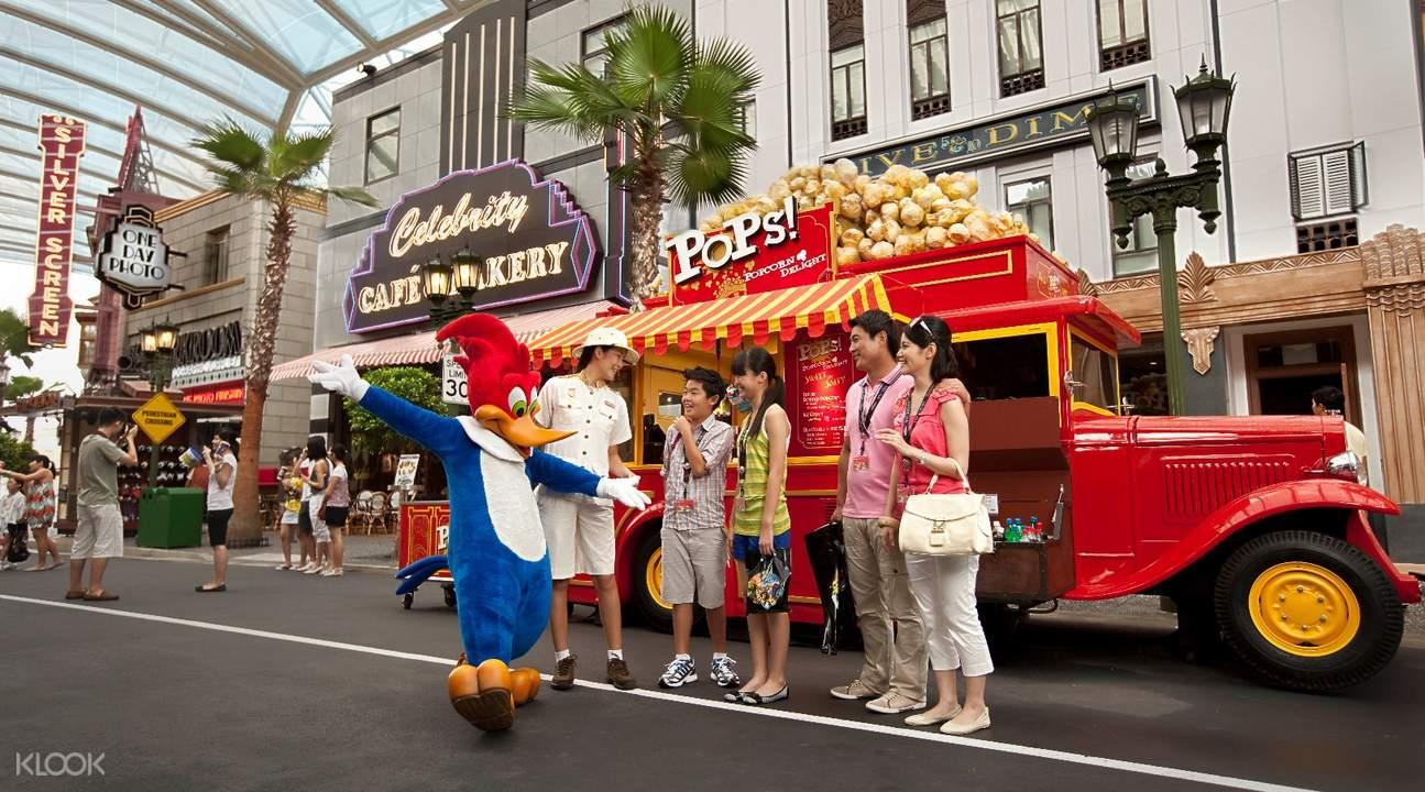 Universal Studios Singapore Meet and Greet