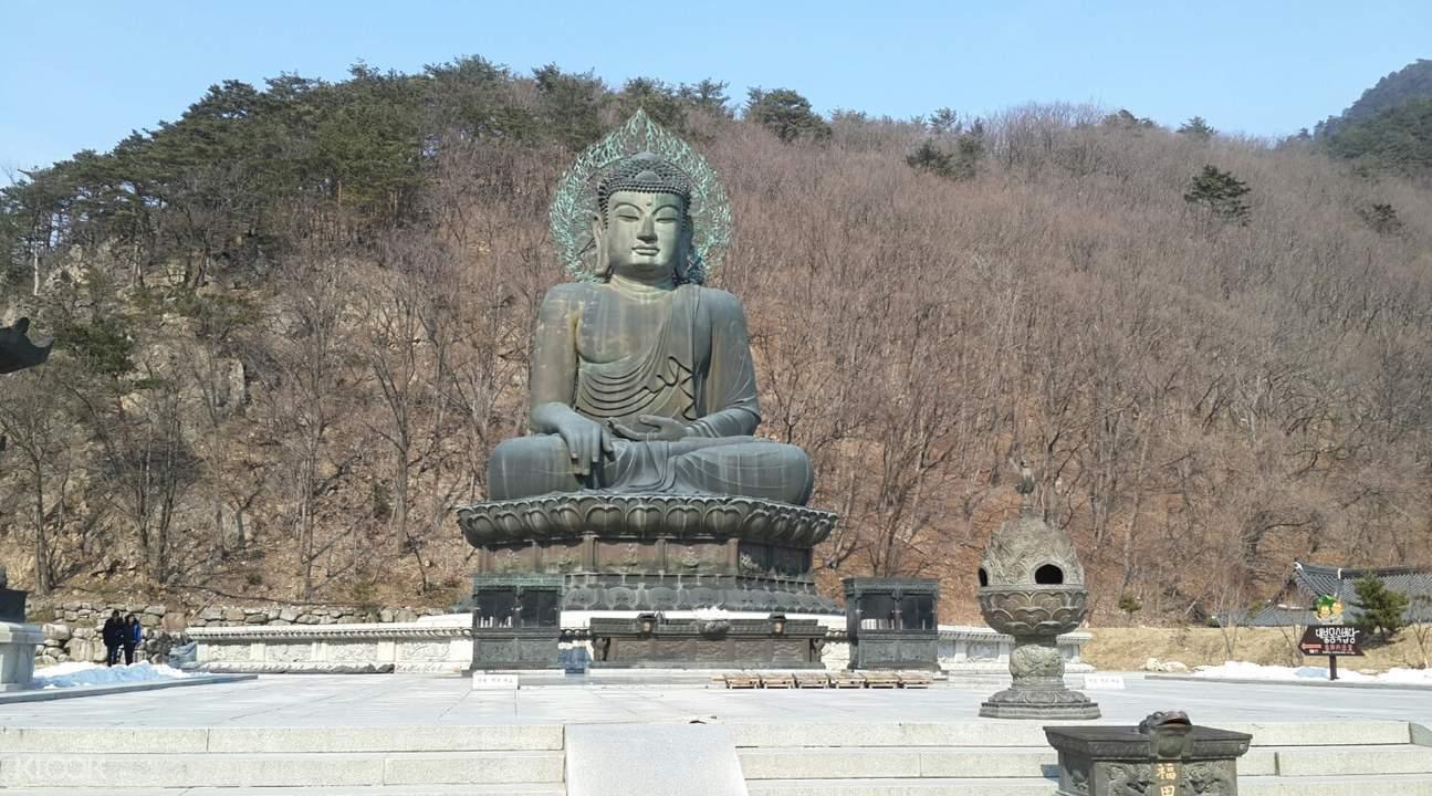 Mount Seorak Bodhisattva statue