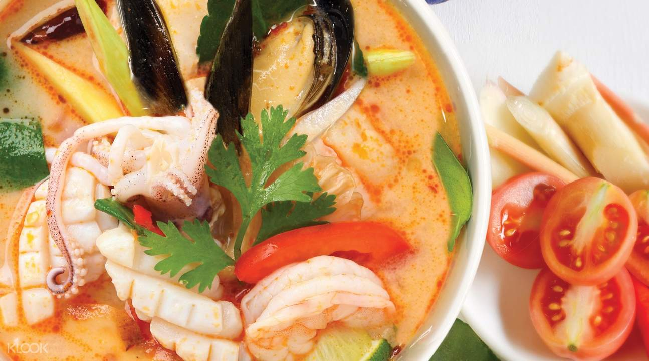 TOM YUM Talay TOM YUM seafood soup at Gin Khao in Raffles Place