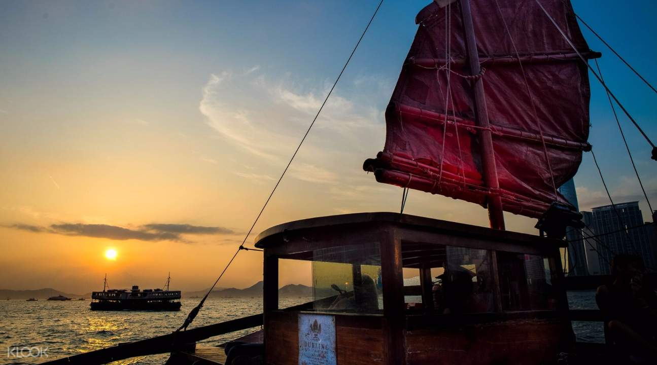 古典中式漁船鴨靈號
