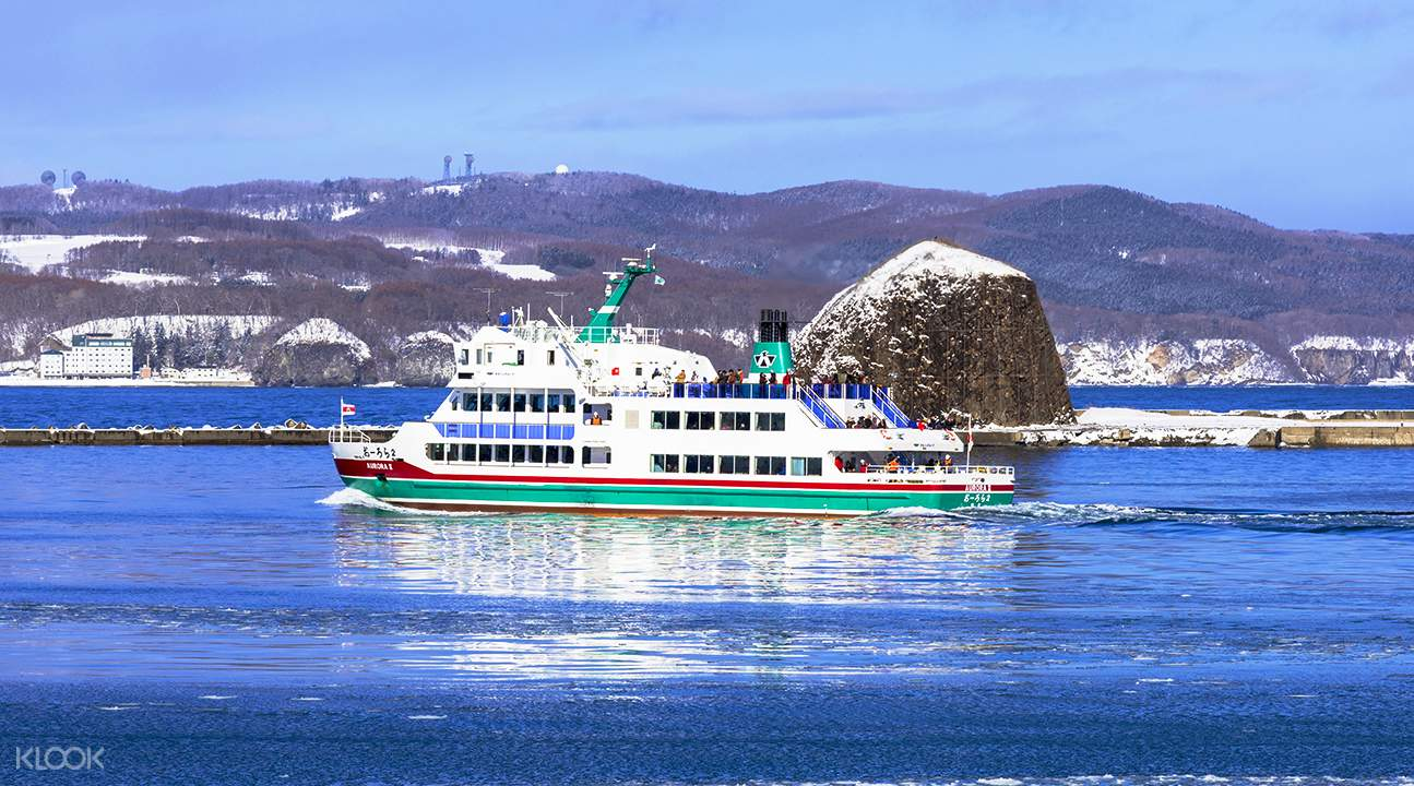 Winter traveling in Hokkaido