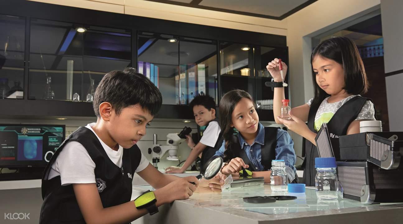 吉隆坡KidZania兒童樂園