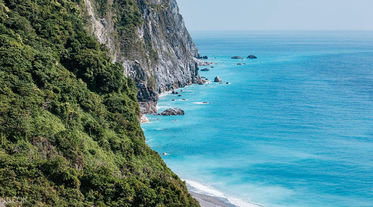 coastal view of Qingshui Cliff