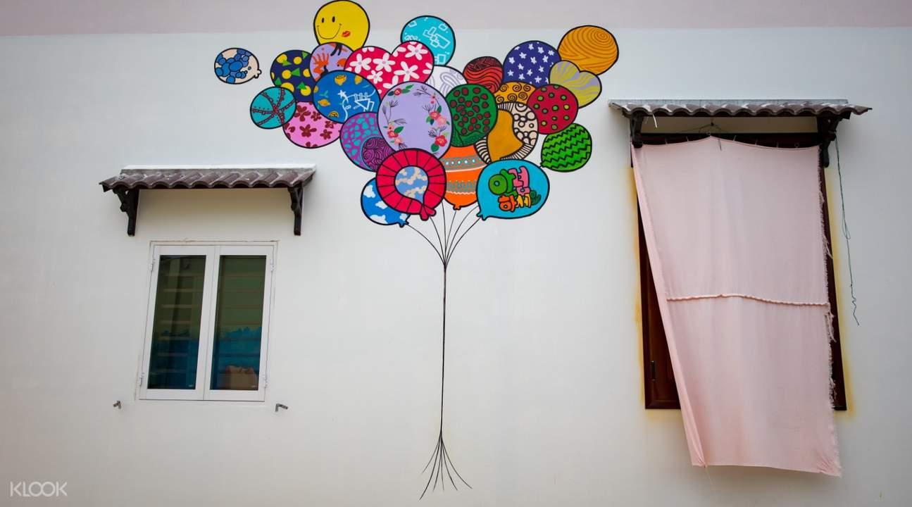 越南 三青壁画村