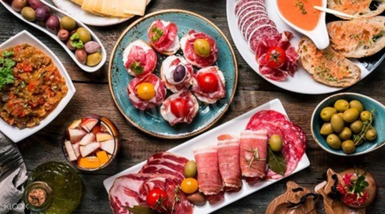 马德里Tapas家庭美食盛宴
