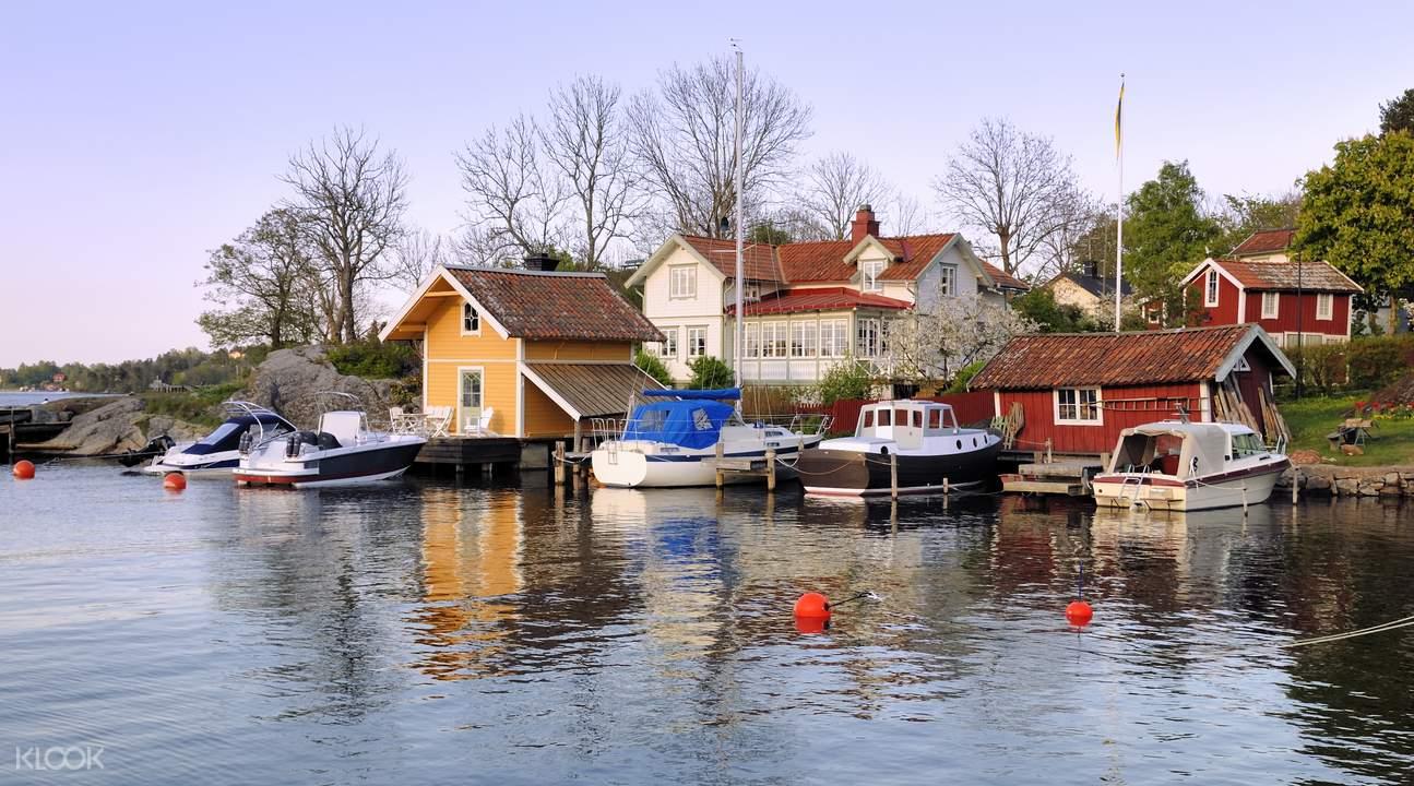 vaxholm village