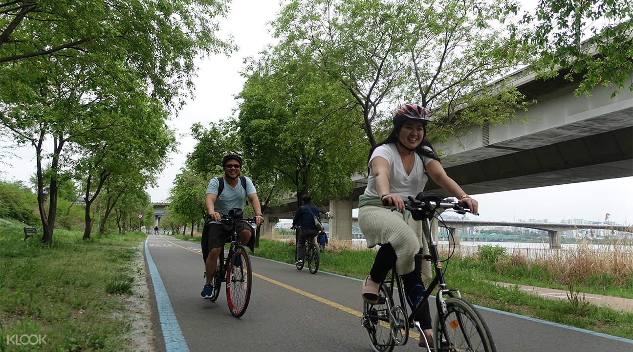 Seoul Bike One day tour