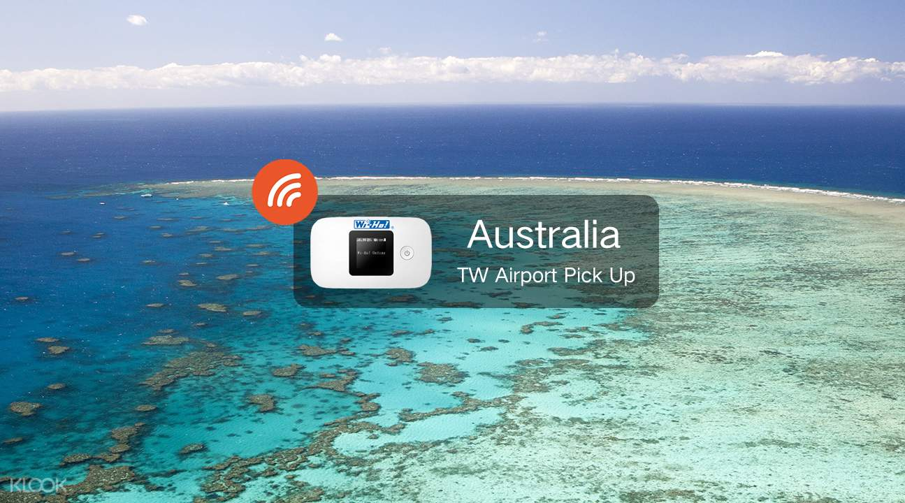 4G WiFi (TW Airport Pick Up) for Australia