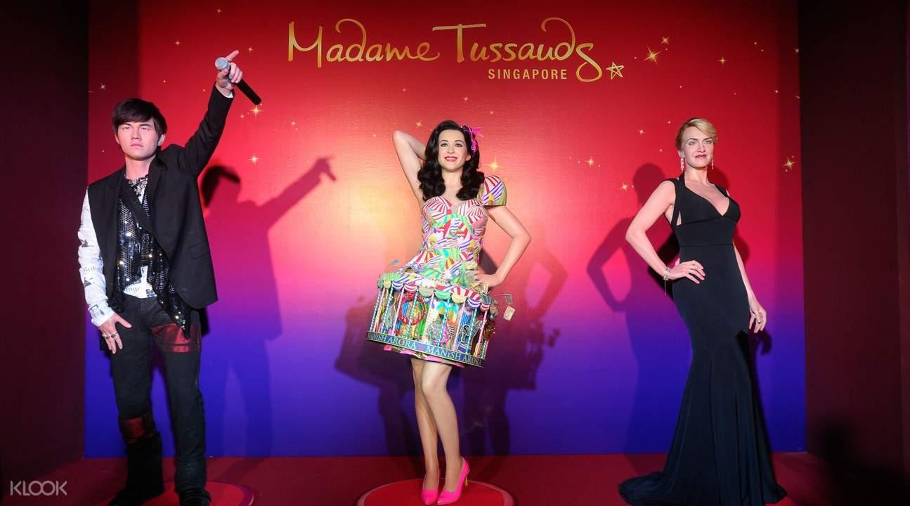 madame tussauds singapore wax figurines