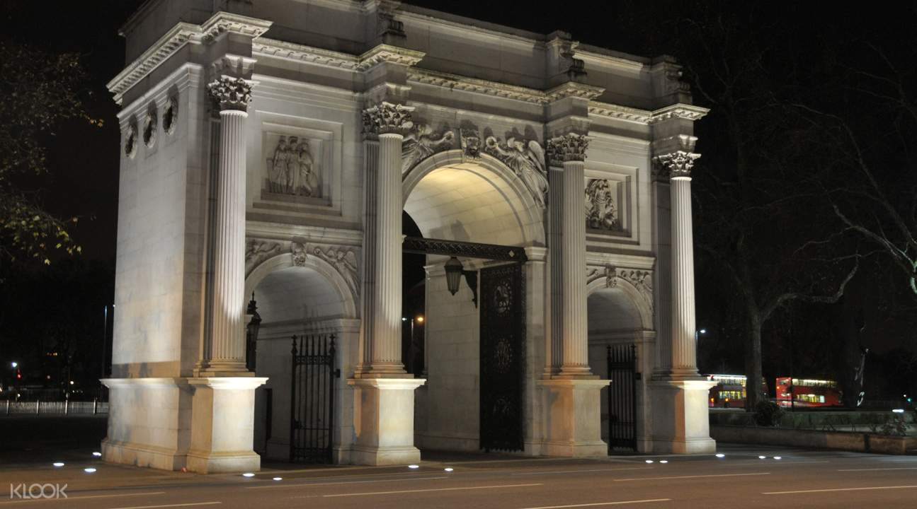 Marble Arch London at Night