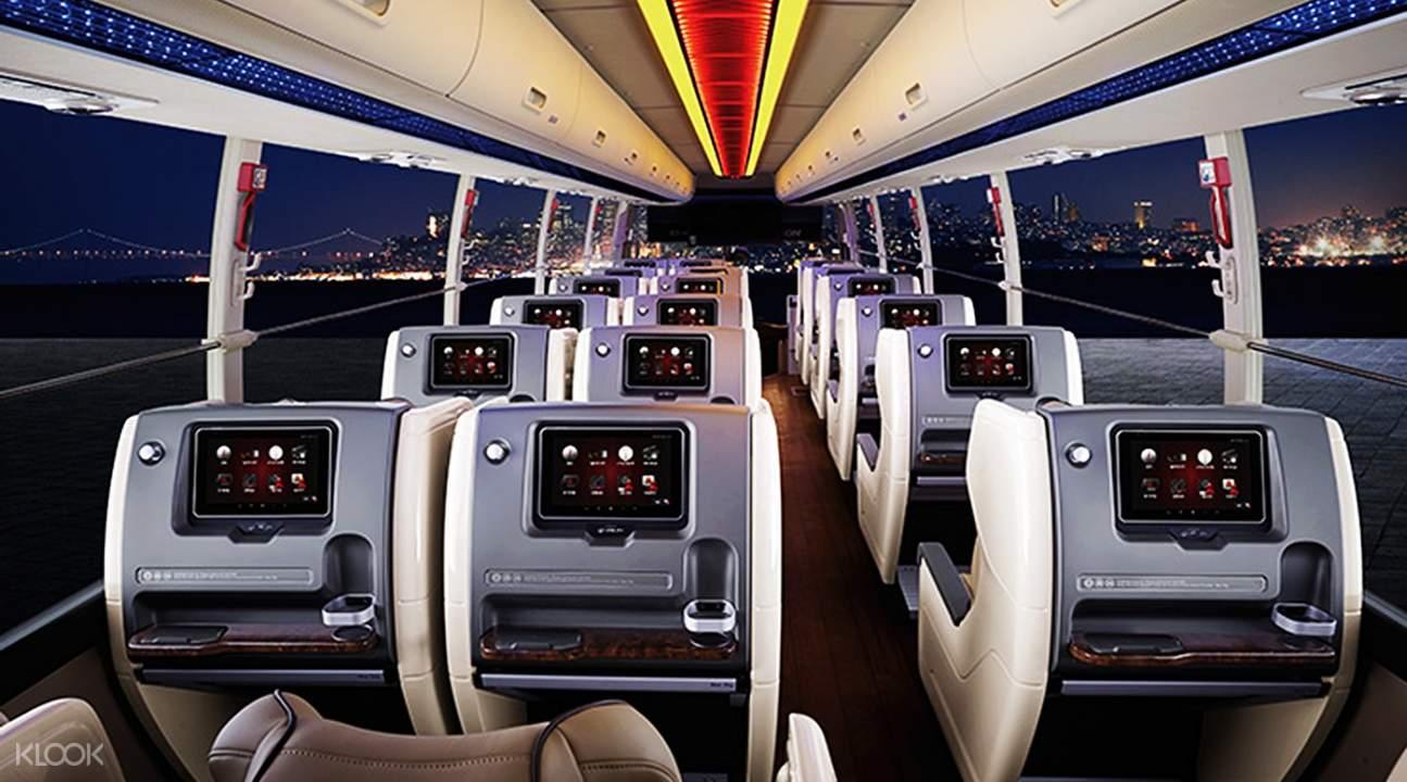 Klook VIP bus