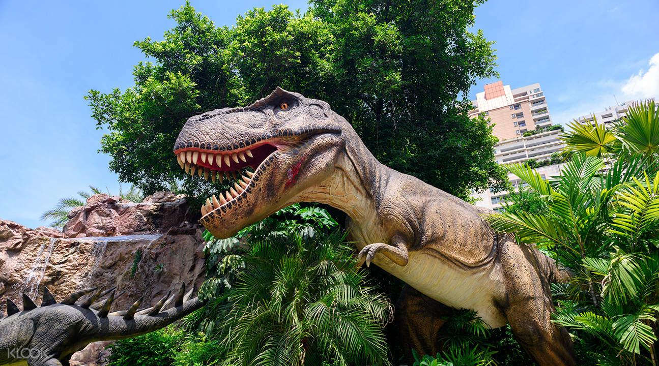泰國曼谷恐龍星球樂園Dinosaur Planet