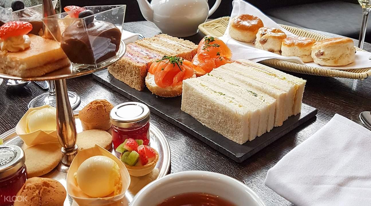 格羅夫納酒店下午茶