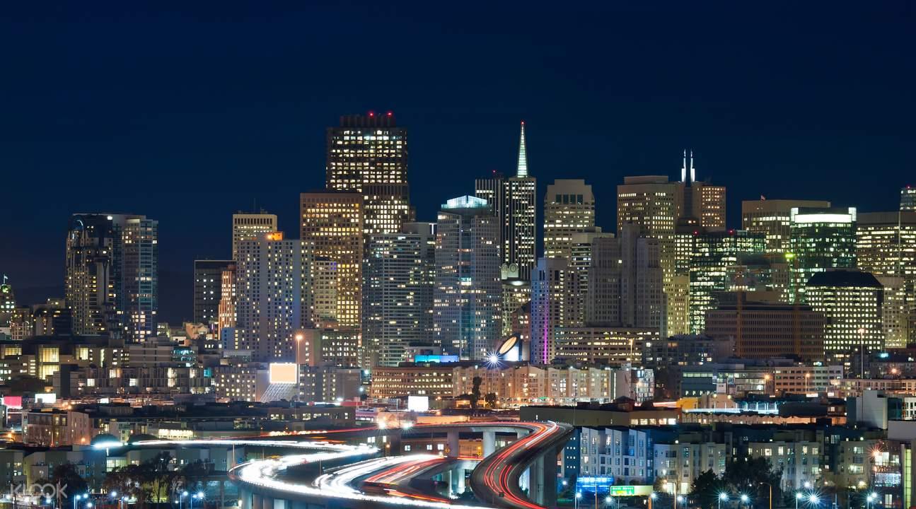 夜游舊金山