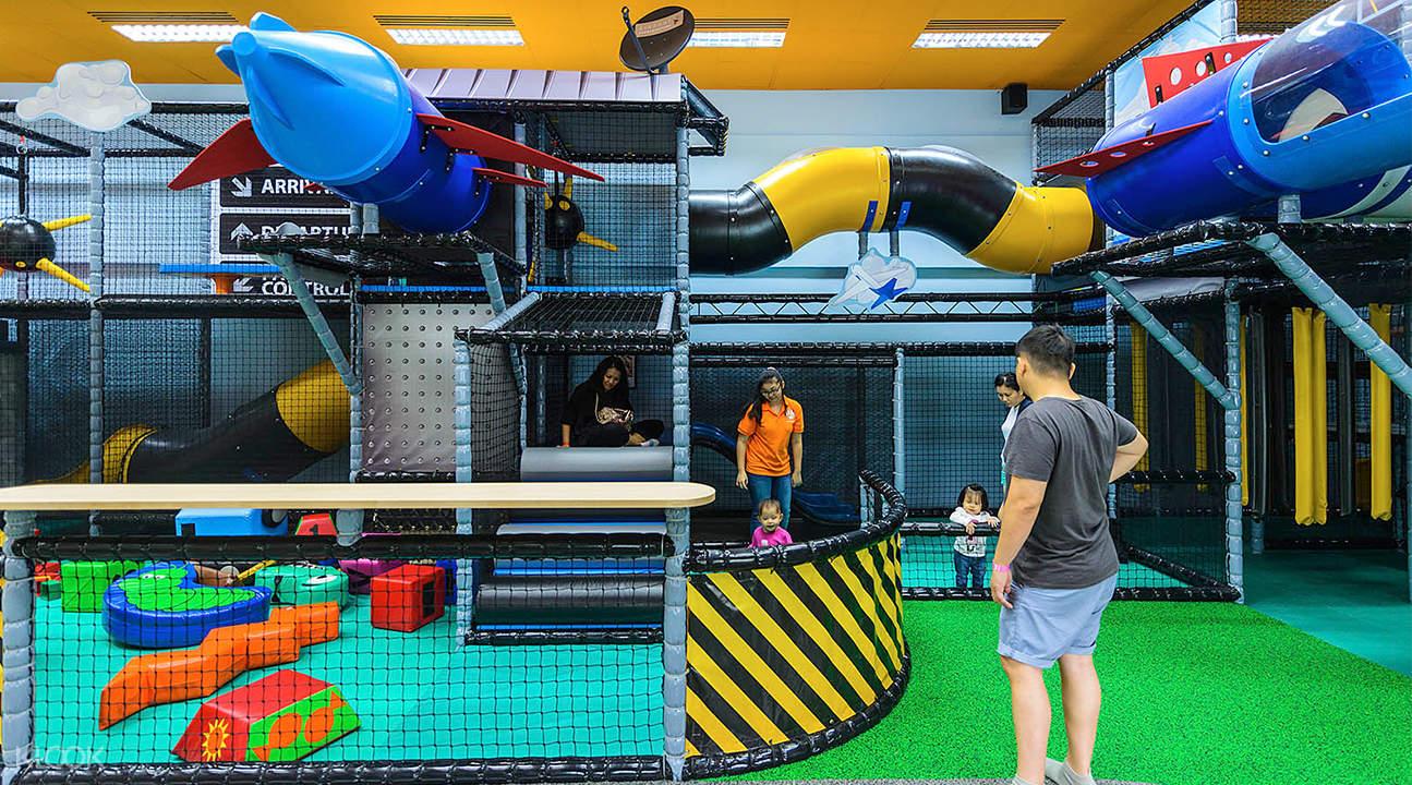 新加坡T-Play 儿童游戏区,新加坡儿童游乐区,新加坡儿童球池