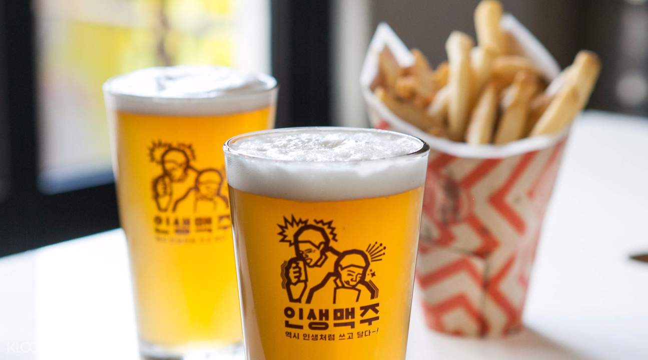 french fries and beer gamja jip passion island seoul