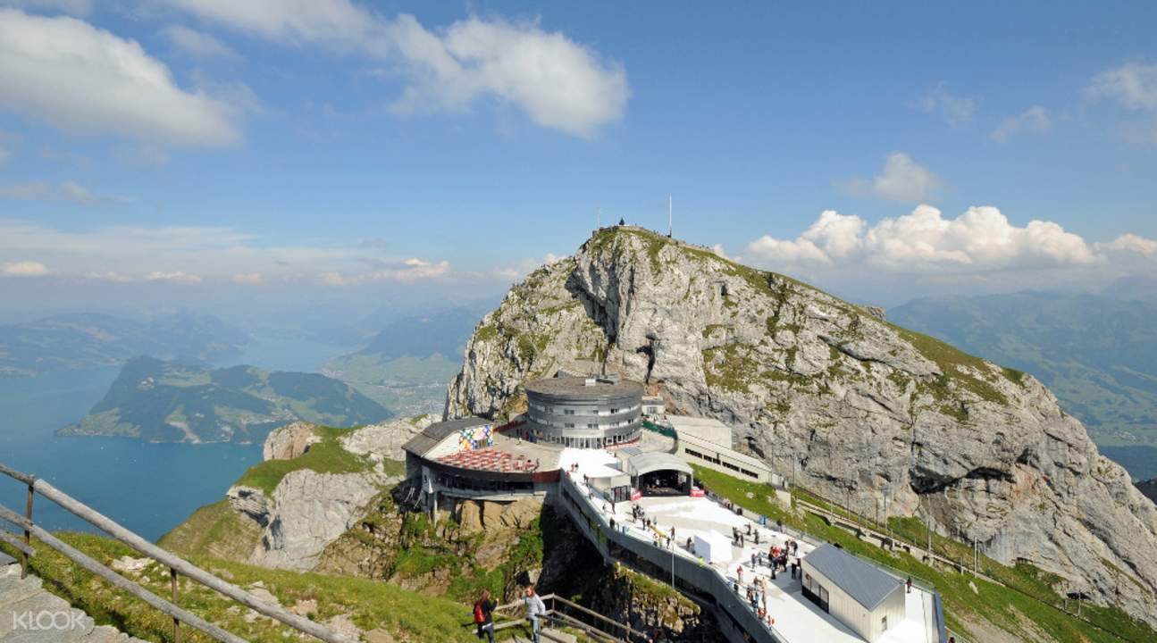 Half Day Trip to Mount Pilatus with Aerial Cable Car and Boat Ride from Lucerne