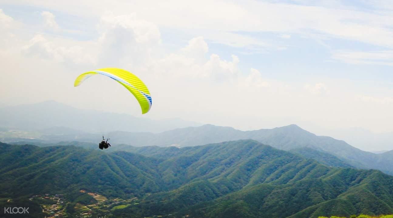 paragliding south korea