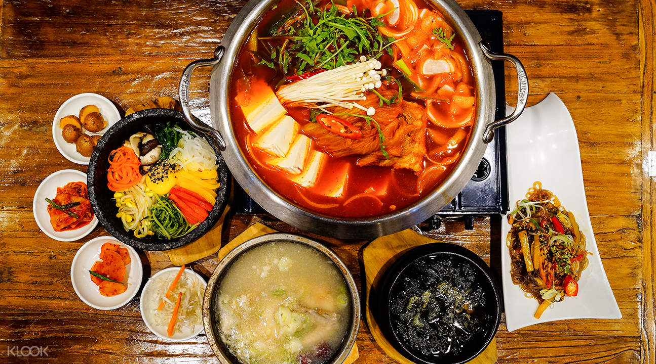 korean army stew kimchi korean restaurant suntec city singapore