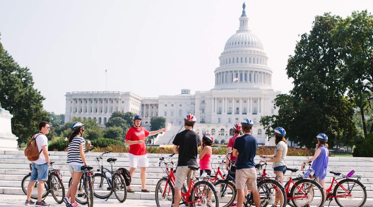washington dc sunset bike tour