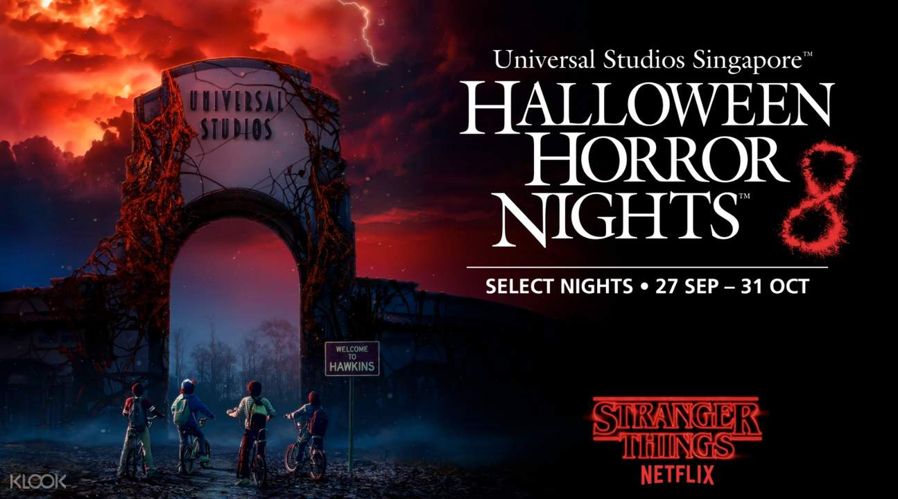 Universal Studios Halloween Horror Nights 8 Express Pass ...