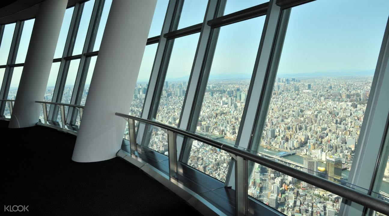Tokyo Skytree windows